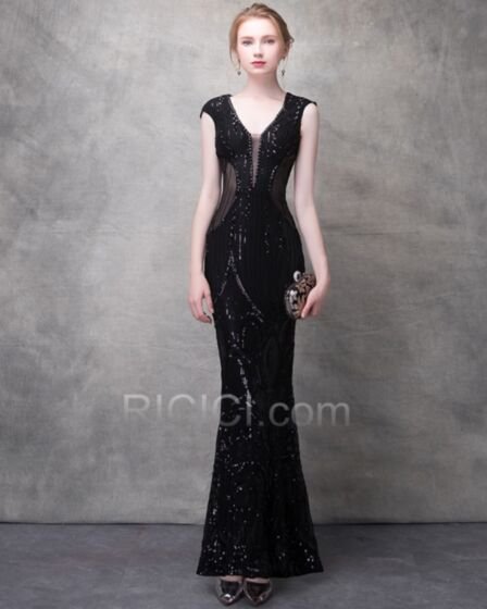 Club Dresses Tulle Summer Long See Through Sparkly 2018 Sequin Sheath