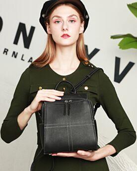 Handbag Simple Classic Black Satchel Backpack