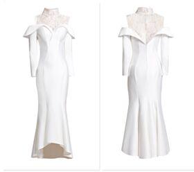 Abend Brautmutter Kleider Mit Spitze Volant Satin Spitzen Herz Ausschnitt Hochgeschlossene Weiß Etui Elegante