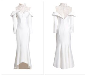 Charming Lace Satin With Lace Flounce Sheath Sweetheart High Neck Half Sleeve Mother Of Bridal / Groom Evening Dress For Party