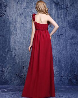 Chiffon 2019 Open Back Wedding Guest Dresses Simple Long Evening Dresses Mermaid Bridesmaid Dresses Burgundy Sleeveless Elegant