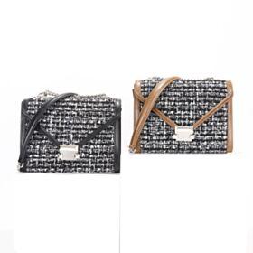 Polyester Casual Schwarz Blockfarben Crossbody Handtasche Leder Umhängetasche Modern