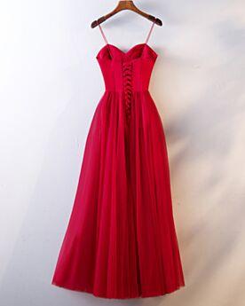 Empire Rückenausschnitt Trauzeugin Kleid Kleider Hochzeitsgäste Vintage Schulterfreies Ärmellos Schlichte