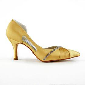 Sparkly Glitter Platform High Heels Pumps Silver Open Toe Bridals Wedding Shoes