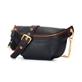 Crossbody Black Medium Cute Fanny Pack Fashion Going Out Bag