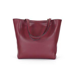 Classici Borse Tracolla Bordeaux Pelle Tote Bag