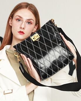 Shoulder Bag Crossbody Black Bag Quilted