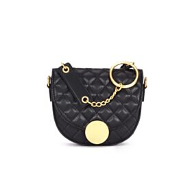 Casual Crossbody Fashion Cute Leather Black Flap Over Shoulder Bag Going Out Handbag Small