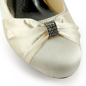 2020 8 cm High Heel Elegant Bridals Wedding Shoes Pointed Toe Wedges Pumps Shoes Champagne Gold