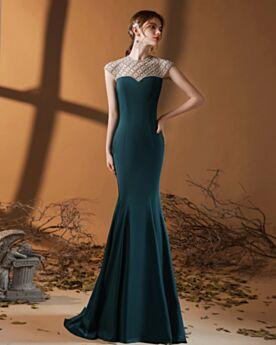 Elegant Formal Dresses Long Dress For Wedding Guest Ink Blue Bridesmaid Dresses Mother Of Bridal Dress Simple