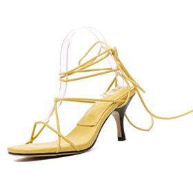 7 cm Heel Sandalen Dames Schattige Stiletto Gladiator