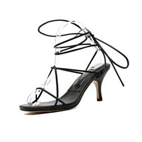 Gladiator Schattige Damesschoenen Sandalen 7 cm Hakken