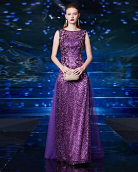 Formal Dresses Prom Dresses Lace Long Sequin Princess Sleeveless