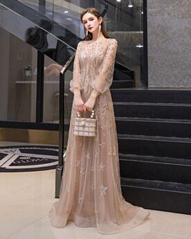 Con Strass Vestiti Diciottesimo Vestiti Cerimonia Con Tulle Champagne Chic