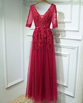 Formal Dresses Bridesmaid Dress Long Lace Backless Wedding Guest Dress Low Cut Bohemian