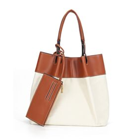 Hobo Going Out White With Top Handle Simple Tote Handbag Shoulder Bag Casual