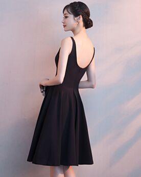 Abiti Da Cerimonia Neri Con Schiena Scoperta Little Black Dress