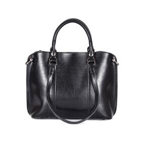 Shoulder Bag Vintage Leather Patent Laptop Bag Full Grain Purse For Women
