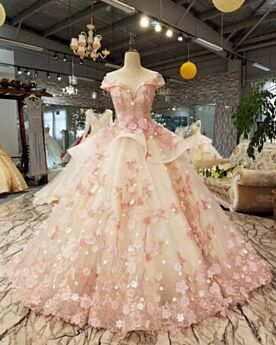Ball Gown Open Back Peplum Sweet 16 Dresses Juniors Quinceanera Dresses Beautiful Prom Dresses Lace Sleeveless Tulle Low Cut Beautiful