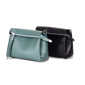 Womens Handbag Crossbody Full Grain Jade Blue Classic Shoulder Bag Fashion