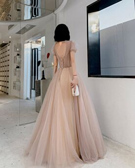 Sweet 16 Dresses A Line Formal Evening Dresses Prom Dresses Sequin Simple Burgundy Turtleneck Sparkly Long
