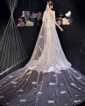 エレガント 半袖 ホワイト ウェディングドレス ガーデン バックレス ロング スクエア ネック サテン 8720310556