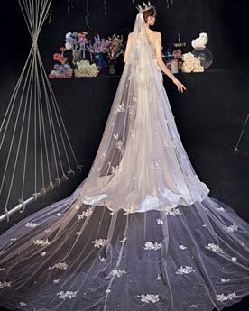 Simple Robe De Mariée Exterieur Dos Nu Perlage Belle Blanche Civil Sirène