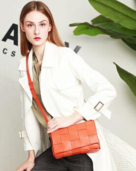 Modern Going Out Womens Bag Shoulder Bag Orange Crossbody