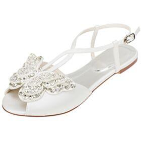Zapatos Mujer Stiletto Elegantes Con Strass 7 cm Tacones Rojo