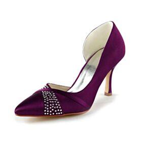 3 inch High Heel Bridals Wedding Shoes Stilettos Charming Pumps