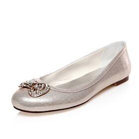 Planas Color Champagne Zapatos Con Tacon Zapatos De Boda Con Strass Brillantes
