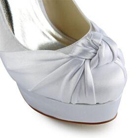 Lazo Zapatos Novia Elegantes Zapatos Tacon Tacones Altos 13 cm