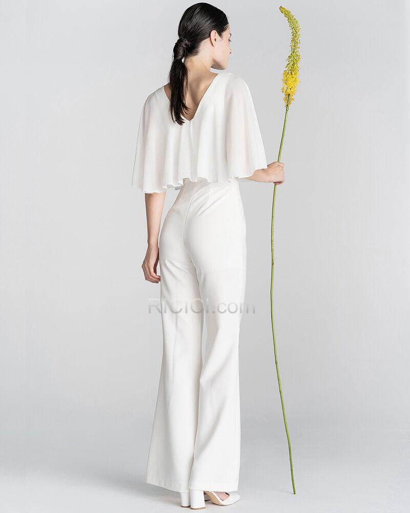 Elegante Lange Rüschen Tiefer Ausschnitt Abendkleid ...