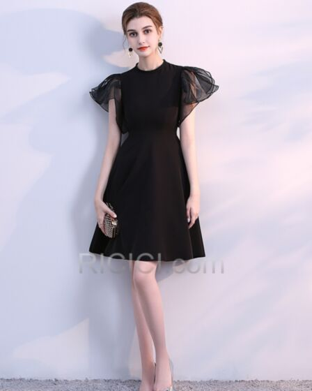 A Lijn Cocktailjurk Simpele Little Black Dress Korte